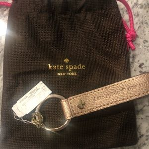 Kate Spade Rosegold Key Fob